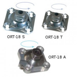 Socket adapter with rotation adjustement