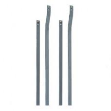 Barres latérales acier