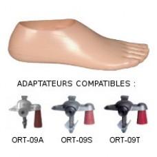 Single axis foot