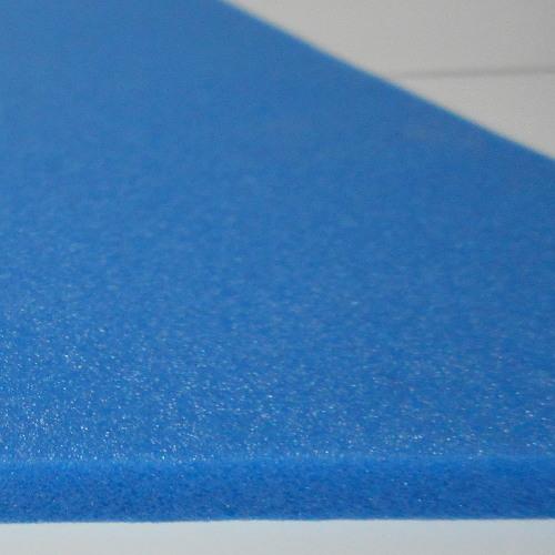 Feuille de Mousse Plastazote 3mm matériel bleu