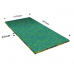 Width: 2070 x 1030 mmColors: Blue and yellowFoam thickness: 45 mmSlicing sheet(s) in the thickness: No slicing